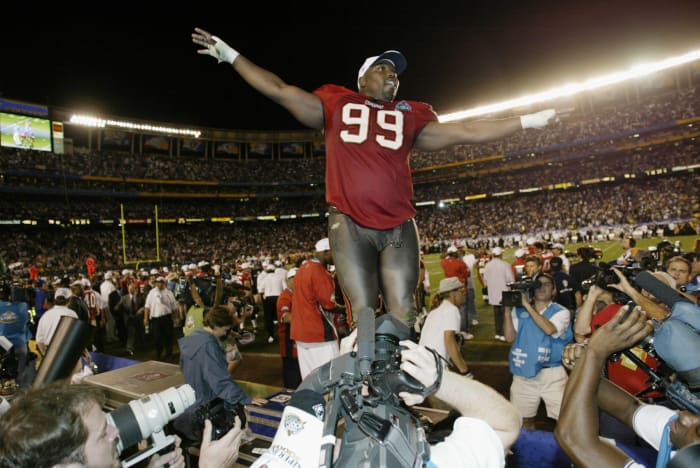 Super Bowl XXXVII: Tampa Bay 48, Oakland 21