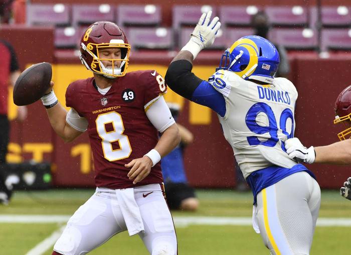 Rams' peerless defensive tackle wrecks Washington