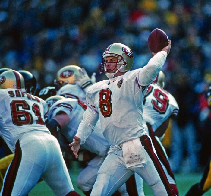 San Francisco 49ers' worst look: 1996-97 away
