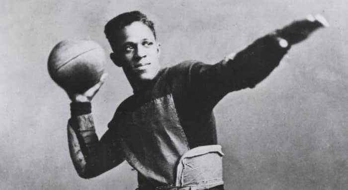 1920: First Black Pro Football players: Fitz Pollard & Bobby Marshall