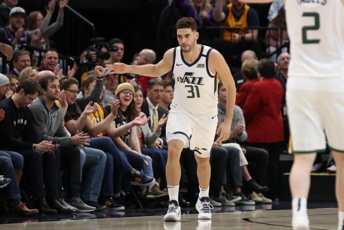 San Antonio Spurs: Georges Niang (50)