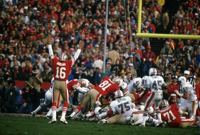 Joe Montana, QB, San Francisco 49ers - Super Bowl XIX
