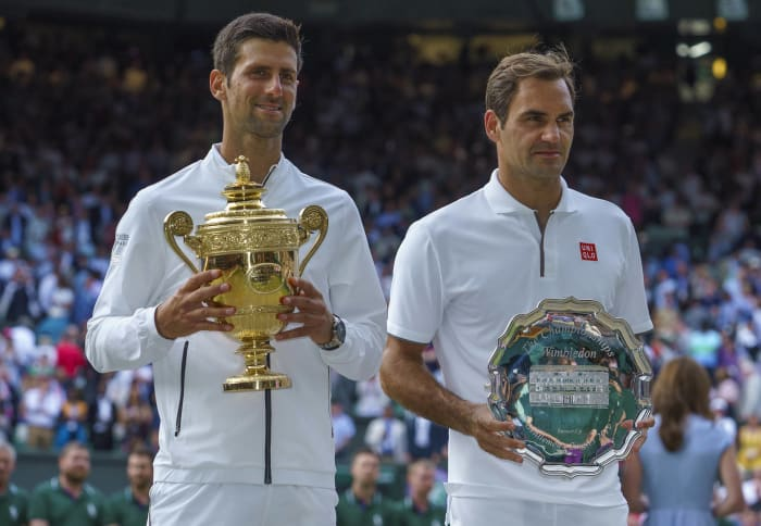 Djokovic outlasts Federer in classic Wimbledon final - Top Sports Moments of 2019