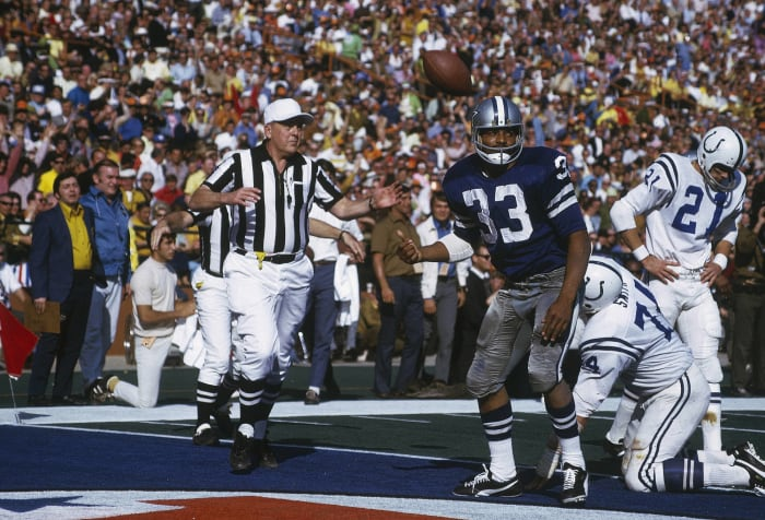 Super Bowl V: Colts vs. Cowboys