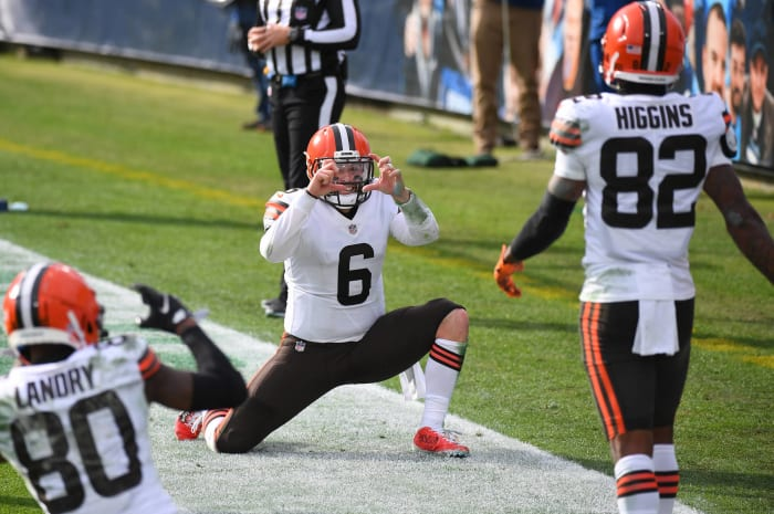 Baker Mayfield, Browns on playoff precipice