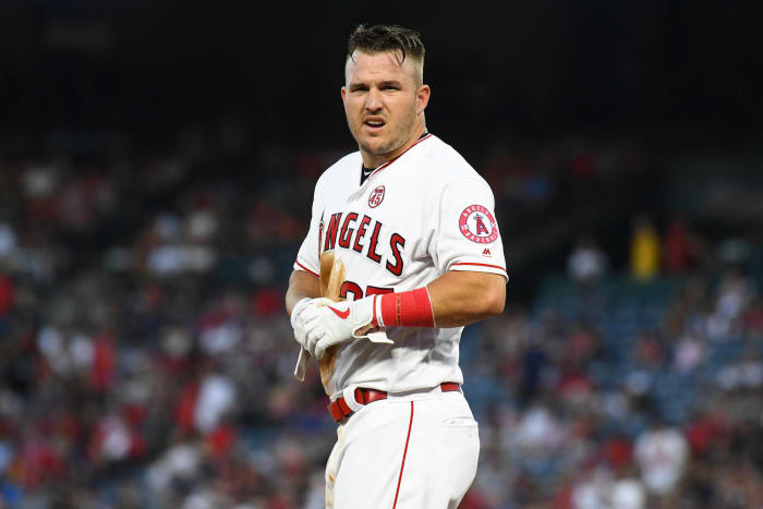 Mike Trout, de Los Angeles Angels de Anaheim