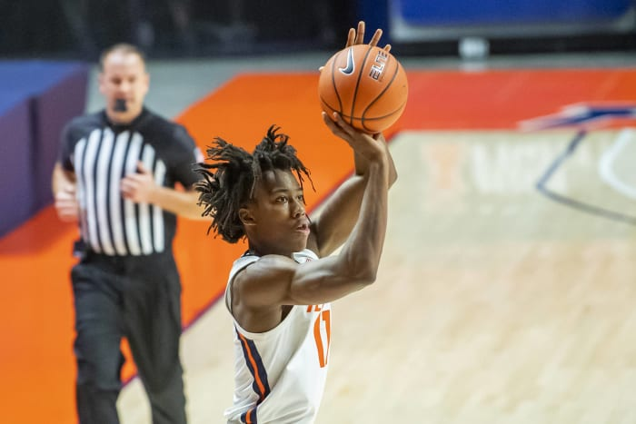 Ayo Dosunmu, Illinois, Junior