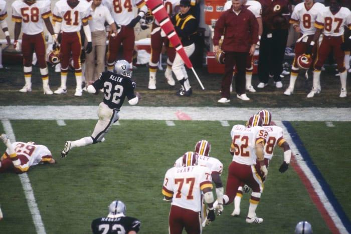 Super Bowl XVIII: Los Angeles Raiders 38, Washington 9