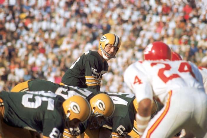Bart Starr, QB, Green Bay Packers - Super Bowl I