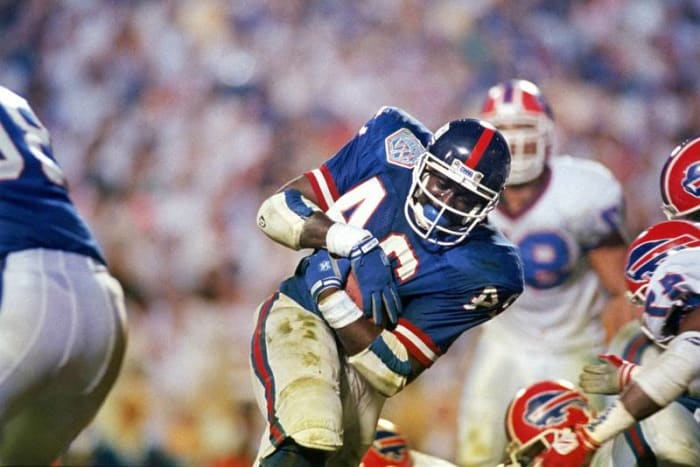 Ottis Anderson, RB, New York Giants - Super Bowl XXV