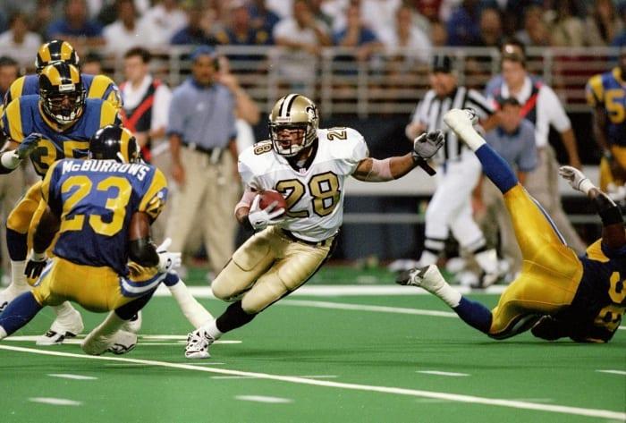 New Orleans Saints' best look: 1967-69, 1996-98 away