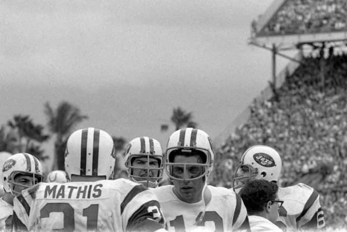 Joe Namath, QB, New York Jets - Super Bowl III