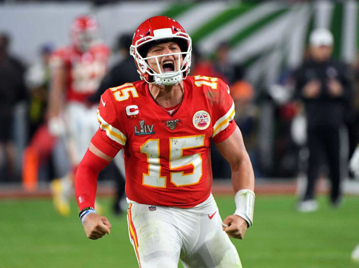 Patrick Mahomes, QB, Kansas City Chiefs - Super Bowl LIV