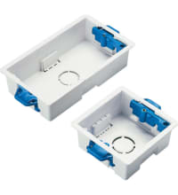 Excel Single Gang 35mm Dry Lining Box, Packs of 20