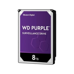Western Digital WD82PURZ - 8 TB HDD - PURPLE SURVEILLANCE