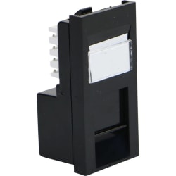 Excel Category 6 (UTP) Unscreened Low Profile Euromod RJ45 Module