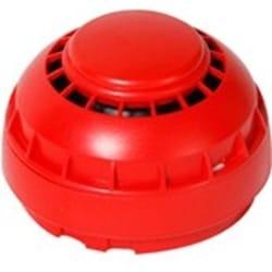 Fike 302-0001 - HORN 2 WIRE SNDR Twinflex Hatari Red