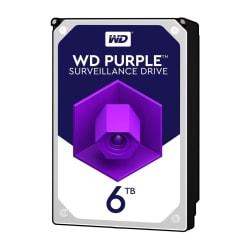 Western Digital WD60PURZ - 6 TB HDD - PURPLE SURVEILLANCE