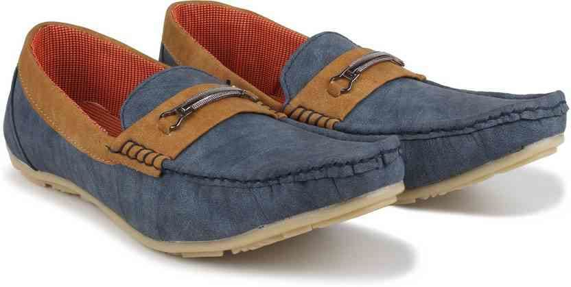 Footista Superb Loafers  (Blue)