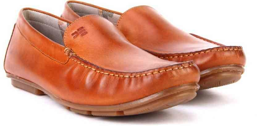 Peter England PE Loafers  (Brown)